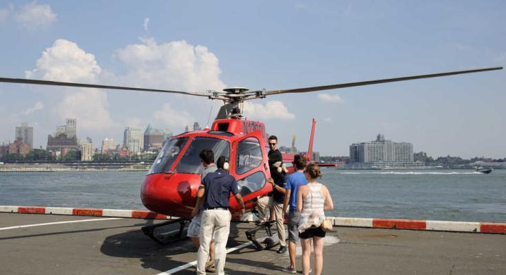 Helicoptero en NY