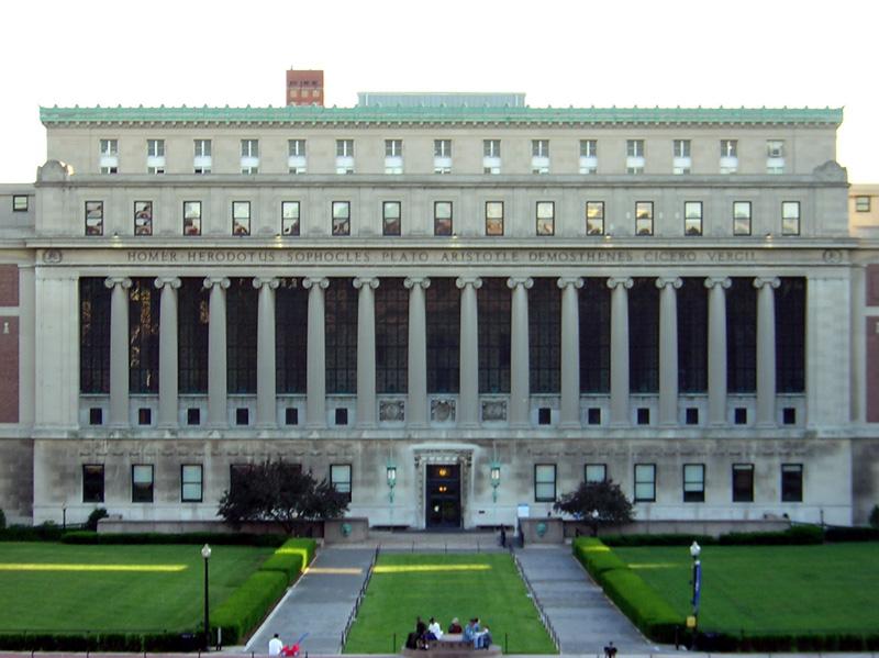 Universidad De Columbia Gu 237 A De New York Newyorkhoteles Com
