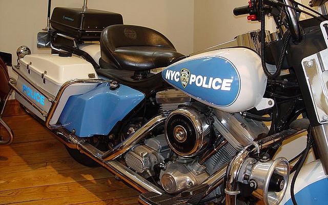 moto Museo Policia de New York