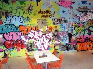 Cafe en el Museo del Barrio