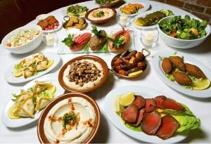 Al Bustan gastronomía