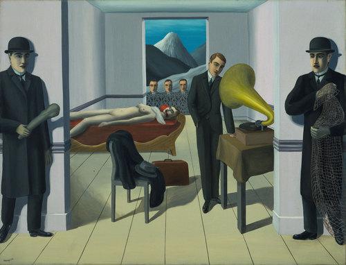 exposición de Magritte en el MoMA